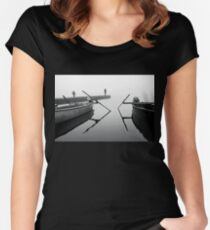 Don't pay the ferryman Women's Fitted Scoop T-Shirt
