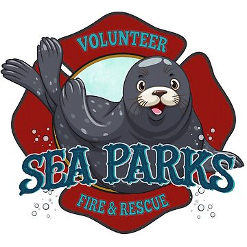 IT Crowd Inspired - Fire at Sea Parks - Sea Parks Volunteer Fire & Rescue - British Comedy Quotes  by traciv
