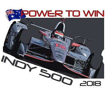 Power To Win Indy 500 2018 by harrisonformula