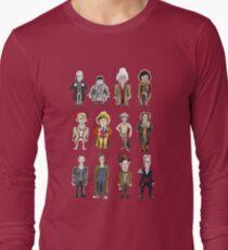 The 12 Doctors Long Sleeve T-Shirt