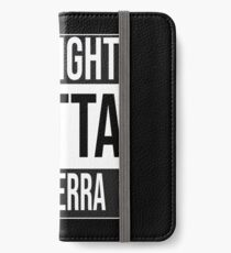 Straight outta Canberra, #Canberra  iPhone Wallet/Case/Skin
