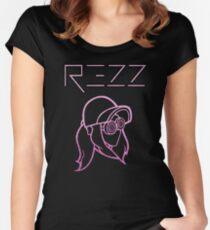 Rezz - Glitter Pink Women's Fitted Scoop T-Shirt