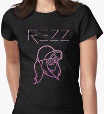 Rezz - Glitter Pink Tailliertes T-Shirt für Frauen
