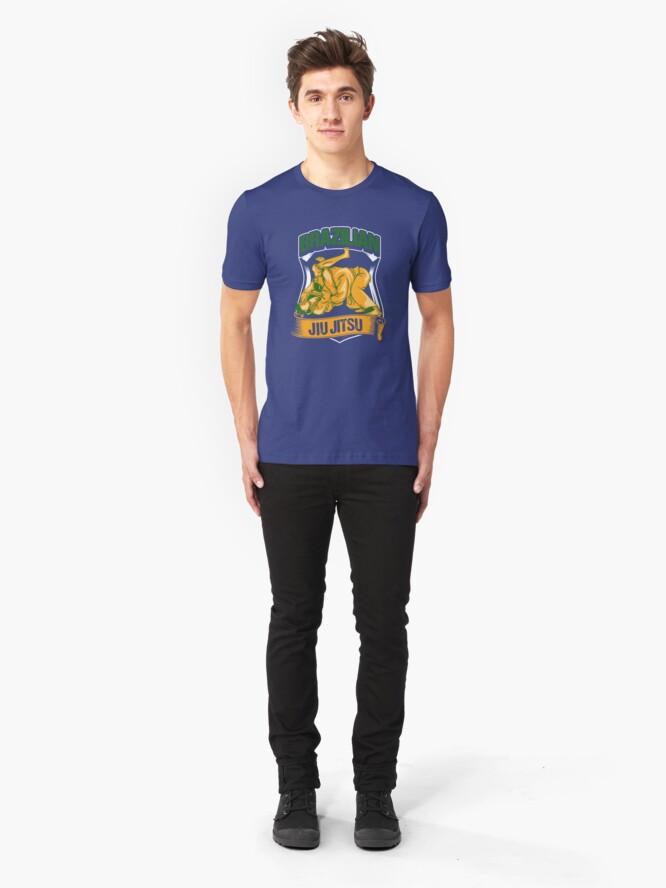 Alternative Ansicht von Brazilian Jiu Jitsu - Martial Arts Gift Slim Fit T-Shirt