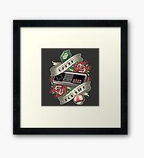 Gamer For Life Framed Print