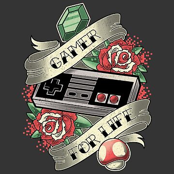Gamer For Life by AutoSave