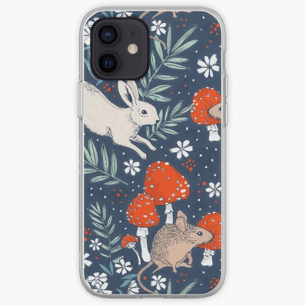 winter forest frolic iPhone Soft Case