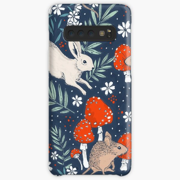 winter forest frolic Samsung Galaxy Snap Case