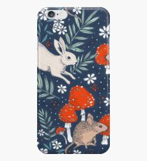 winter forest frolic iPhone 6 Case