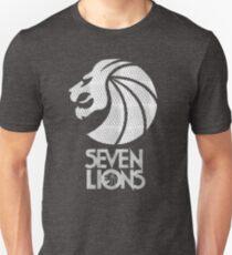Seven Lions - Silver Diamonds Unisex T-Shirt