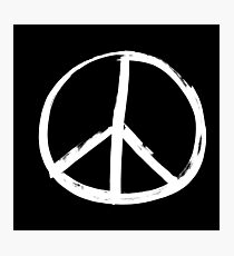 Peace sign Photographic Print