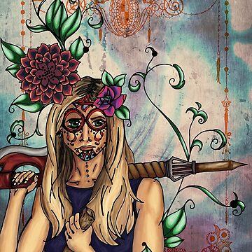 Buffy - Día de los Muertos by vaboredwoolf