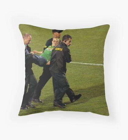 Weird Woman Throw Pillow