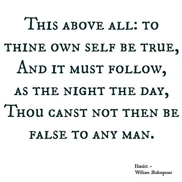 Hamlet quote by mrsthornton