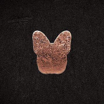 Rose golden embossed Frenchy by RoseAesthetic