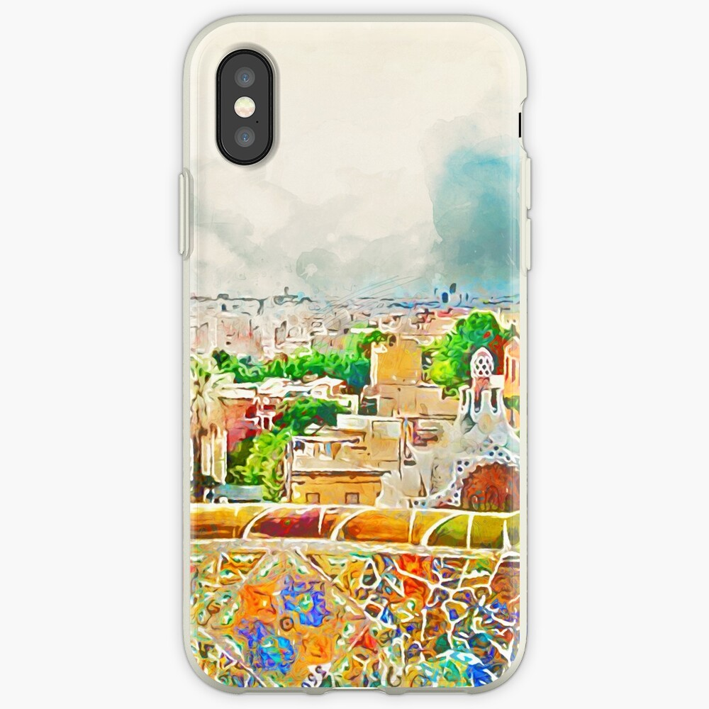 Barcelona, ​​Parc Güell iPhone-Hülle & Cover