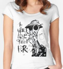The Weird Have Turned Pro Women's Fitted Scoop T-Shirt
