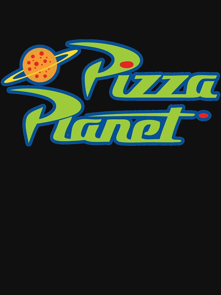 Cartoon Pizza Air Space by gerardoab29