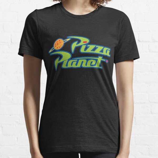 Cartoon Pizza Air Space Essential T-Shirt