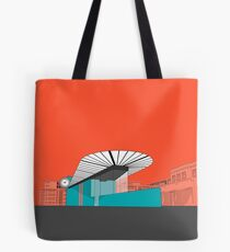 Turquoise Island Tote Bag