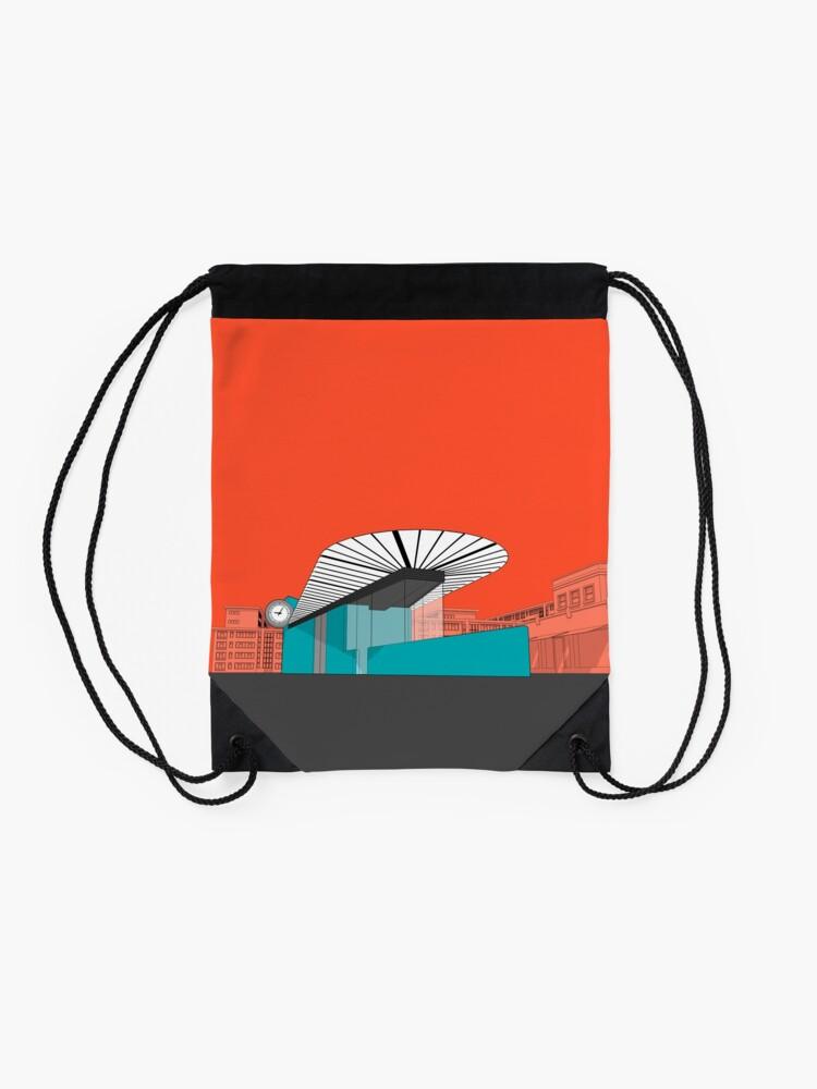 Alternate view of Turquoise Island Drawstring Bag