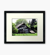 FOR YOUR LIVER  Dr. PIERCE'S  PLEASANT  PELLETS   Framed Print