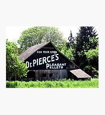 FOR YOUR LIVER  Dr. PIERCE'S  PLEASANT  PELLETS   Photographic Print