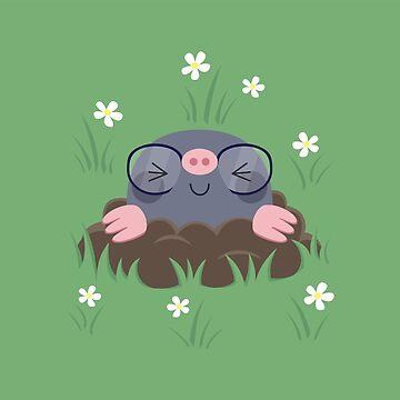 Cute little moles by petitspixels
