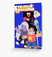 Steven universe and the gems Greeting Card
