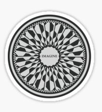 Imagine - Memorial Sticker