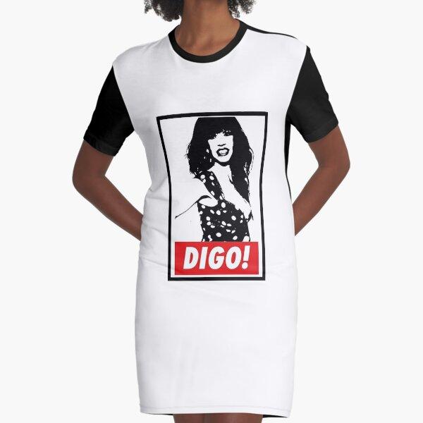 Digo, Cristina La Veneno Vestido camiseta