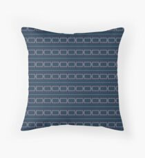 WEM-style vintage amplifier grill cloth Throw Pillow