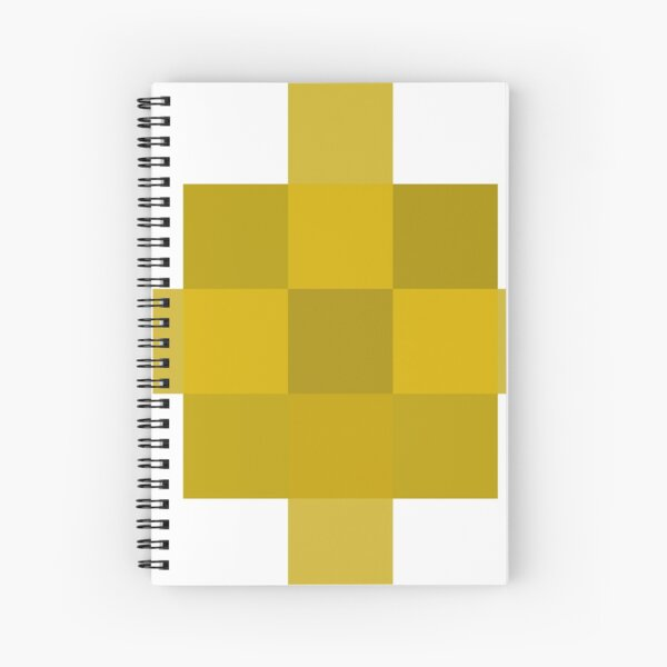 #Pattern, #design, #tracery, #weave, #drawing, #figure, #picture, #illustration Spiral Notebook