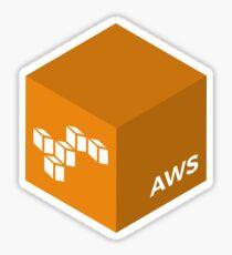 Programming Skill Cube - AWS Sticker