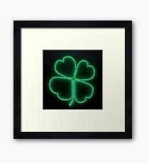 Four-Leaf Clover Framed Print