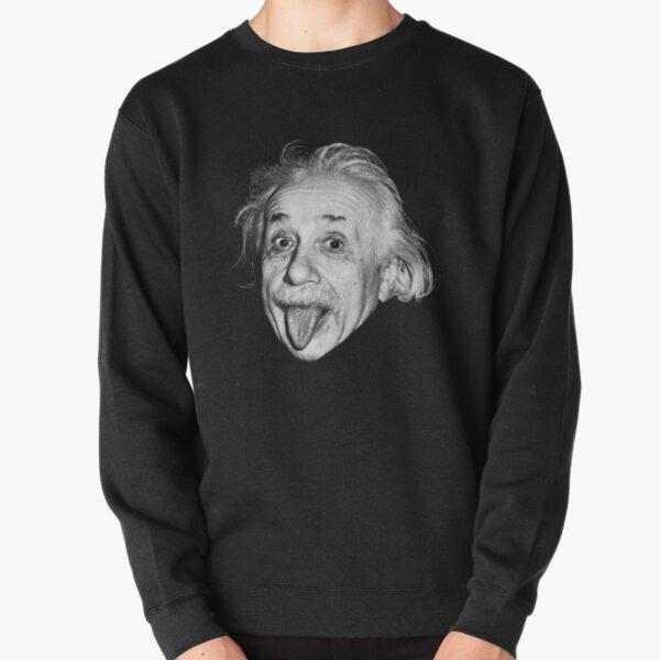Albert Einstein mostrando su tounge Sudadera sin capucha