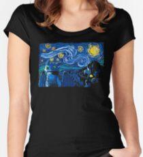 Starry Berk Women's Fitted Scoop T-Shirt