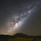 Milky Way and Shooting Stars by McguiganVisuals