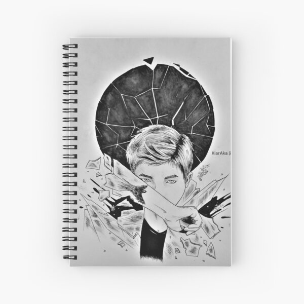 RM - Reflection (WINGS) Spiral Notebook