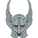 Knight helmet by jcmeyer