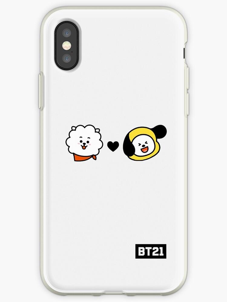 promo code c49d2 7b468 'BTS BT21 RJ X CHIMMY (Jin x Jimin)' iPhone Case by oohfluff