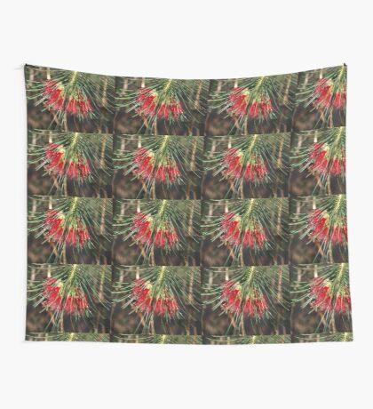 Calathomnus in Red Wall Tapestry
