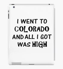 High Colorado iPad Case/Skin