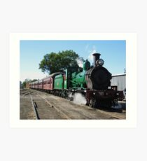 2705 Steam Train. Art Print