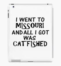 Catfished Missouri iPad Case/Skin