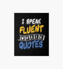 Movie Quotes Art Board