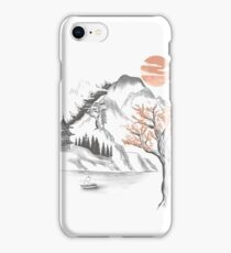 behind the mountain iPhone Case/Skin