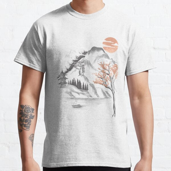 behind the mountain Classic T-Shirt