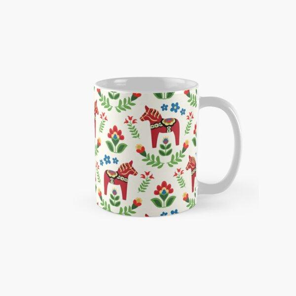 Swedish Dala Horses Red Classic Mug