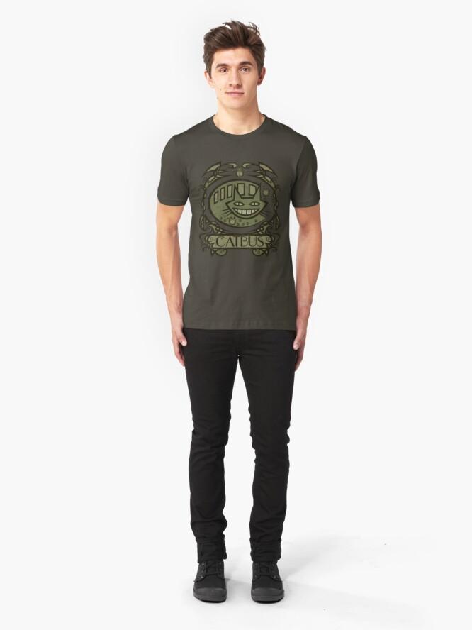 Alternate view of Catbus Nouveau Slim Fit T-Shirt